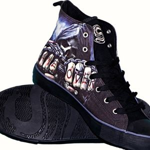 GAME OVER - Sneakers - Men's High Top Lace-up 11
